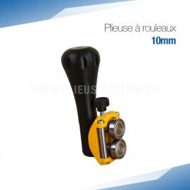 Plieuse bordeuse à rouleaux manuelle 10 mm