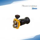 Plieuse bordeuse à rouleaux manuelle 25 mm