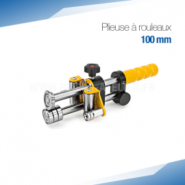 Plieuse bordeuse à rouleaux manuelle 100 mm