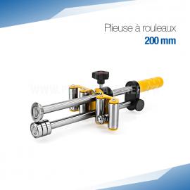 Plieuse bordeuse à rouleaux manuelle 200 mm