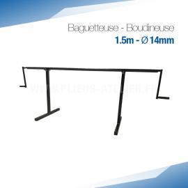 Baguetteuse à métal et Zinc 150 - Ourlet de 14 mm