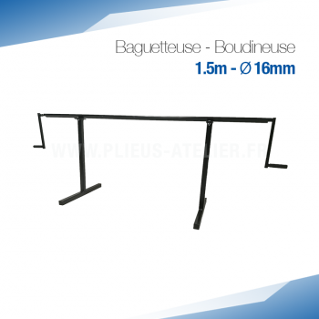 Baguetteuse à métal et Zinc 150 - Ourlet de 16 mm