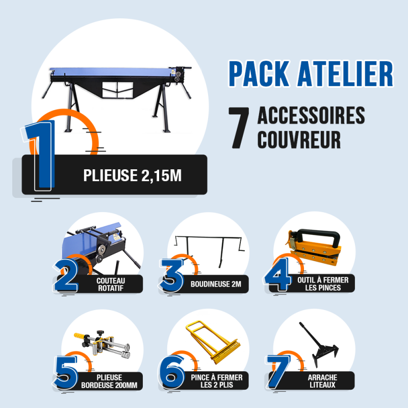 Pack couvreur
