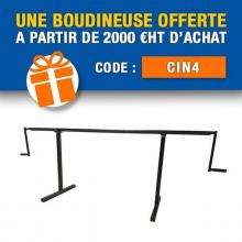🔥 CODE PROMO : CIN4 🔥 Avec Plieuse-atelier.fr bénéficiez d'une boudineuse offerte pour vos commandes supérieures à 2 000 €HT d'achat (hors frais de transport) avec le code CIN4 ! 👉 Lien dans la bio  Offre valable jusqu'au 31/10/2021 (minuit), non cumulable avec un autre code promotionnel.  #codepromo #baguetteuse #boudineuse #plieuse #atelier #chantier #couverture #zinc #zinguerie #diy #bricolage #outil #plieuseatelierfr