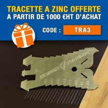 🔥 CODE PROMO : TRA3 🔥 Avec Plieuse-atelier.fr bénéficiez d'une tracette à zinc 5 à 100 mm - SOREX TECHNIC offerte pour vos commandes supérieures à 1 000 €HT d'achat (hors frais de transport) avec le code TRA3 !  👉 Lien dans la bio  Offre valable jusqu'au 31/10/2021 (minuit), non cumulable avec un autre code promotionnel.  #codepromo #plieuse #atelier #chantier #couverture #zinc #zinguerie #diy #bricolage #outil #plieuseatelierfr