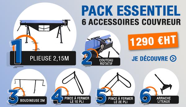 Pack Essentiel - 6 accessoires couvreur